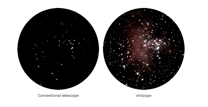 your unistellar evscope questions answered - evscope images
