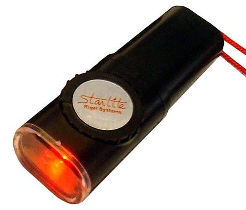 Rigel Starlite Red Flashlight