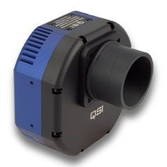 QSI 604WSG-8 Monochrome CCD Camera - Mechanical Shutter, 8-Position CFW & Built-In OAG