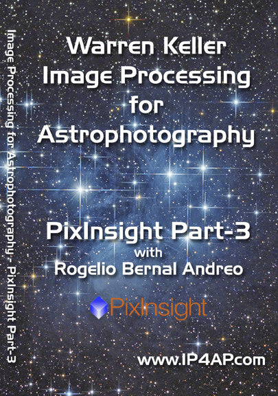 Keller/ Andreo PixInsight Part 3 - DVD Tutorial Video