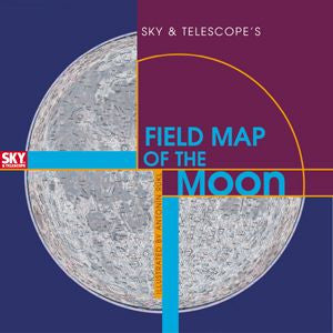 Sky & Telescope Field Map of the Moon