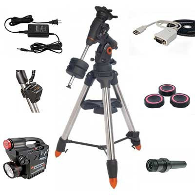 Celestron CGEM DX Equatorial Mount & Tripod Accessory Bundle - Discontinued