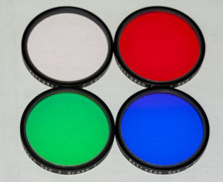 Astrodon Tru-Balance Generation 2 E-Series - LRGB 31mm Round Unmounted Filters