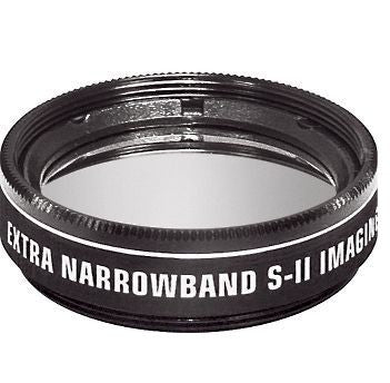 "Orion SII Extra Narrowband Filter - 1.25"" Round Mounted"