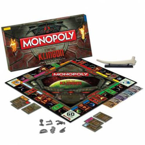 Astronomy Library Star Trek Monopoly - Klingon Collector's Edition