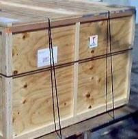 Officina Stellare Wood Shipping Crate for 600mm OTAs