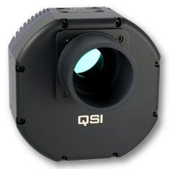 QSI 616WS Monochrome CCD Camera - Mechanical Shutter & 5-Position CFW