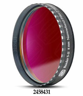 "Baader 8nm SII CCD Filter - 2"" Round Mounted"