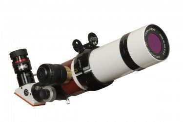 "Lunt Solar 60mm Double Stack B1200 Solar Telescope w/Pressure Tuner - 2"" Feather Touch Focuser"