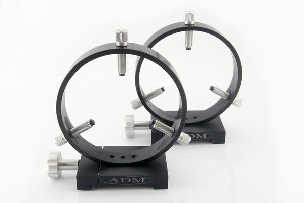 ADM Losmandy D Style Mounting Tube Rings - 125mm