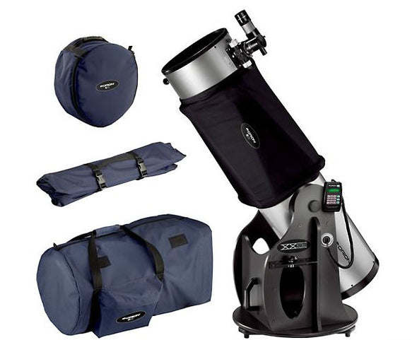Orion SkyQuest XX12i Dobsonian Telescope, Shroud and Case Set