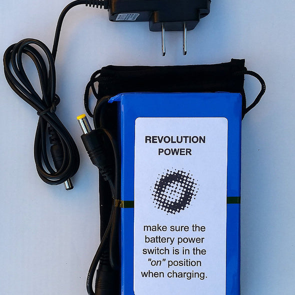Revolution Imager Deluxe Bat/Upgrade 9800mAH W/AC Charger
