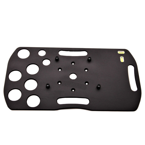 Accessory Tray for LX200/LX90 Mounts: 6 Large Holes, 2 Small Holes