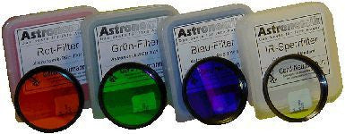 "Astronomik LRGB Filter Set - 2"" Round Mounted"