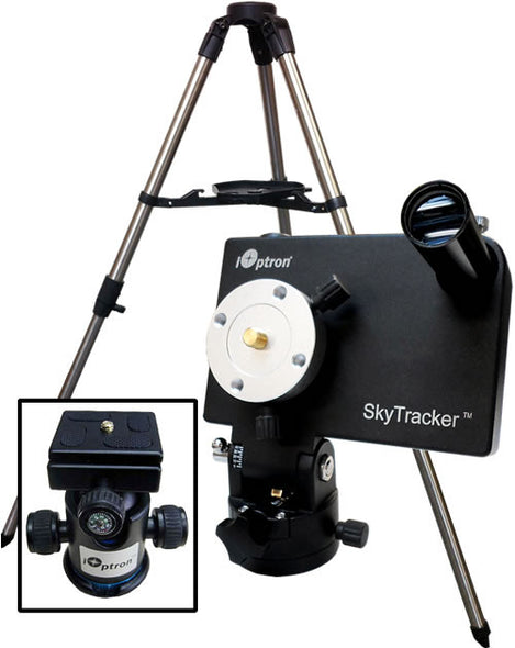 iOptron SkyTracker Package in Black