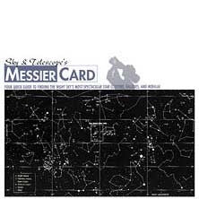 Messier Card - Laminated
