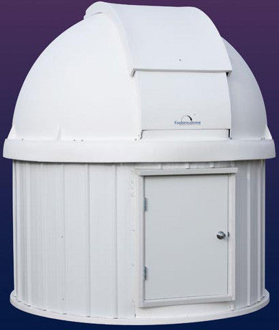 "Explora Dome 8"" on 8"" Round Building"