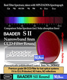 Baader 8nm SII CCD Filter - 65mm Square Unmounted