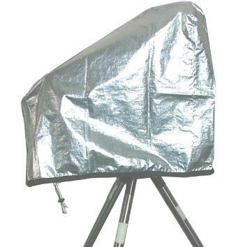 "TeleGizmos Solar Cover for 6"" Refractor on Large GEM's"