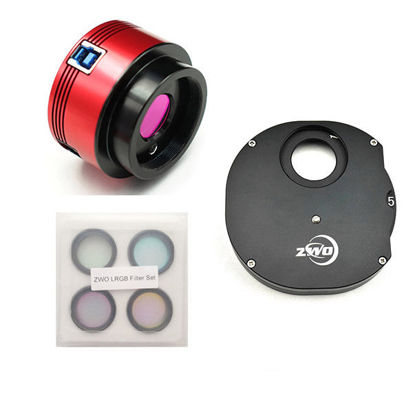 ZWO ASI174MM Monochrome CMOS Astronomy Camera - USB 3.0 Kit One