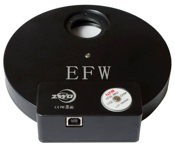 "ZWO Electronic 8 Position Filter Wheel- 1.25""/31mm Sized"