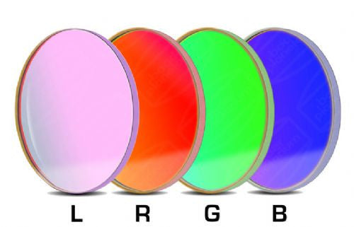 Baader LRGB Filter Set - 36mm Round Unmounted