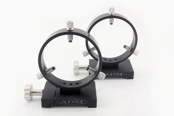 ADM Losmandy D Style Mounting Tube Rings - 100mm