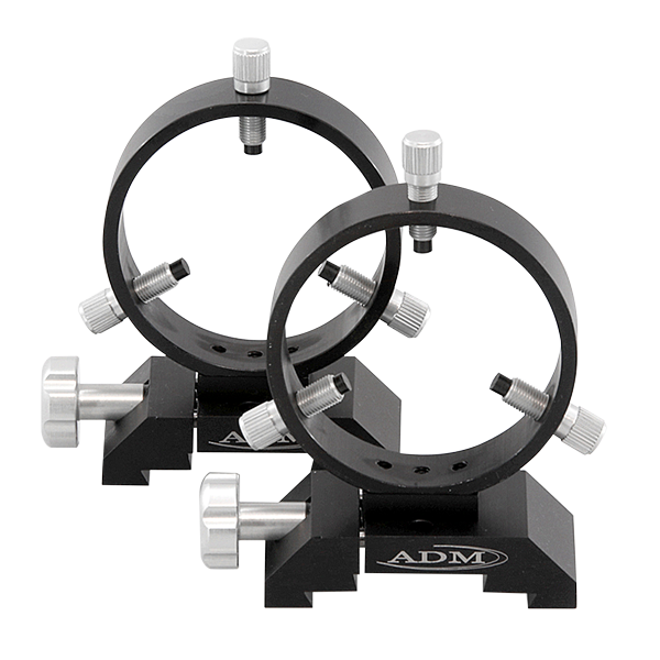 ADM Losmandy D Style Mounting Tube Rings - 90mm