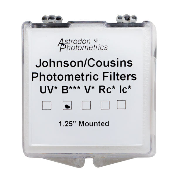Astrodon Photometrics Johnson & Cousins UBVRcIc B Filter - 1.25""