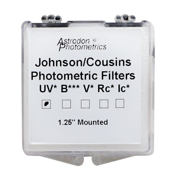Astrodon Photometrics Johnson & Cousins UBVRcIc U Filter - 1.25""