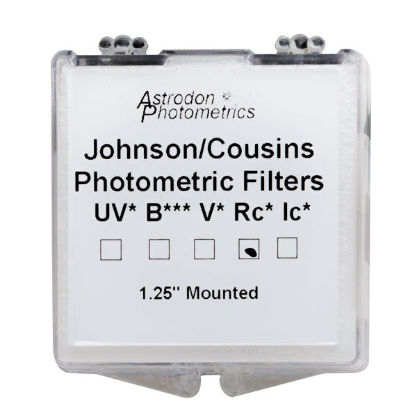 Astrodon Photometrics Johnson & Cousins UBVRcIc Rc Filter - 1.25""