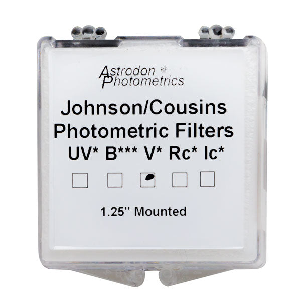 Astrodon Photometrics Johnson & Cousins UBVRcIc V Filter - 1.25""
