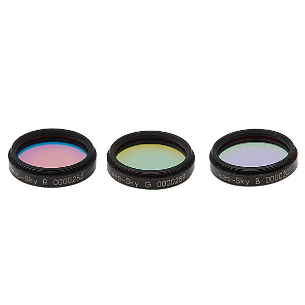 Astronomik Deep-Sky RGB Filter Set - 1.25""