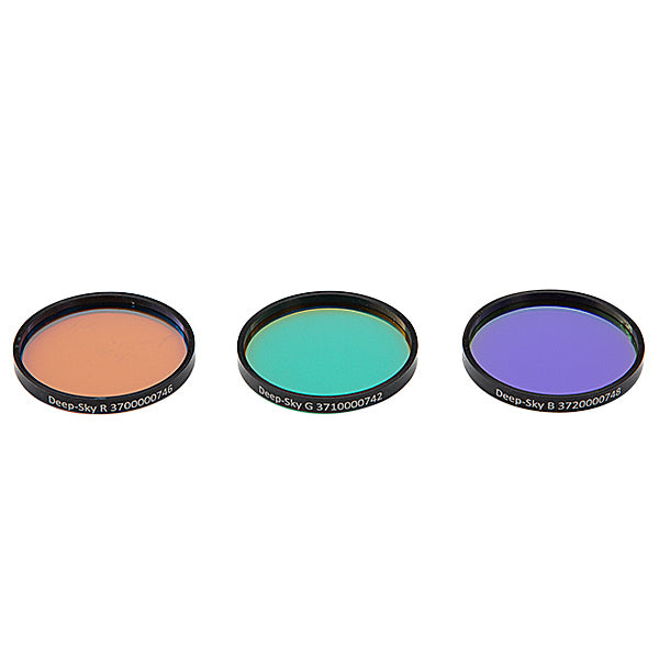 Astronomik Deep-Sky RGB Filter Set - 36mm Round Mounted