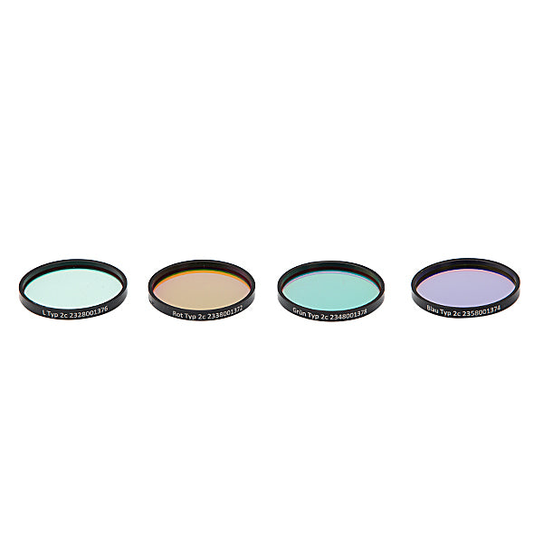 Astronomik LRGB Filter Set - 36mm Round Mounted