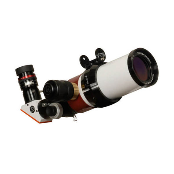 "Lunt 60mm Pressure-Tuned f/8.3 Solar Refracting Telescope w/ 2"" Feathertouch & B1200"