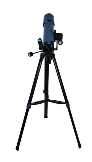 Meade StarPro AZ 102 mm Telescope - back view with tripod
