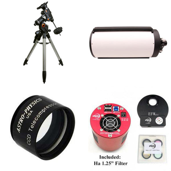"OPT 10"" Ritchey Chretien Astrophotography Package"