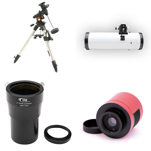 "OPT 6"" Imaging Newtonian Astrophotography Package"