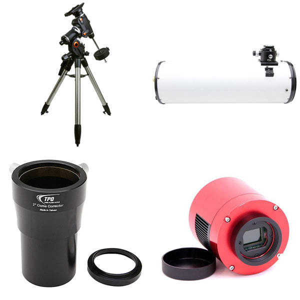 "OPT 8"" Imaging Newtonian Astrophotography Package"