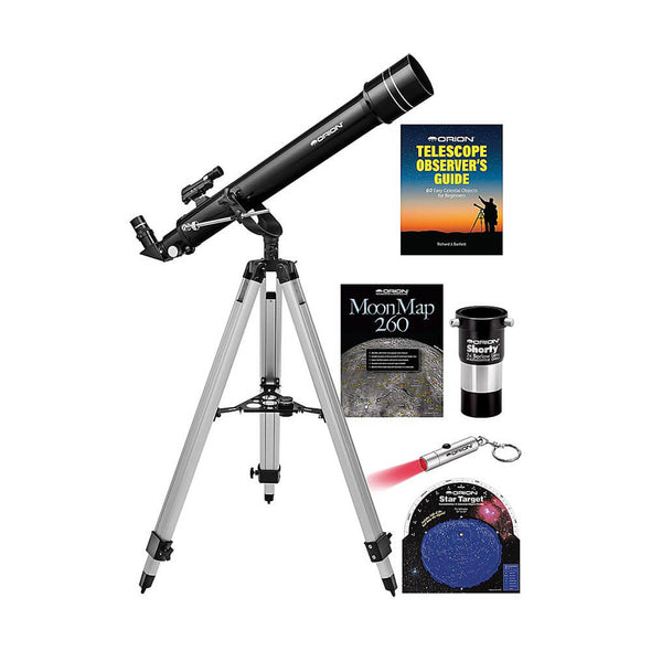 Orion Observer II 70mm f/10 Doublet Refracting Telescope Kit