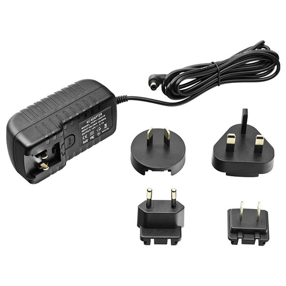 Orion AC 100-240V to DC 12V 2.1A Worldwide Power Adapter