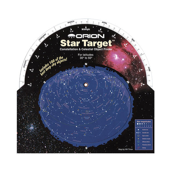 Orion Star Target Planisphere 30-50 degree