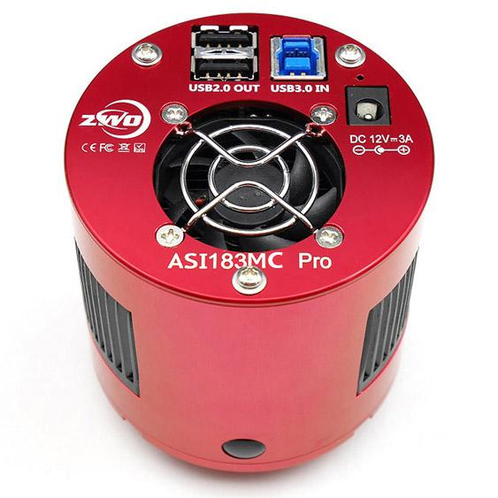 Used ZWO ASI183 Pro Cooled Color CMOS Astrophotography Camera