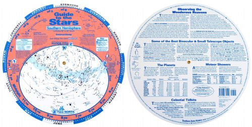 "Astronomy Library Guide to the Stars 11"" Planisphere - Southern Hemisphere"