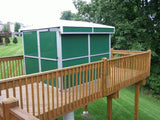 Pier-Tech Tele-Station 2 Roll-Off Roof Observatory - 9' X 9' X 6' I.D.
