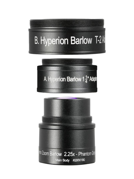 Baader Hyperion Zoom Barlow Components