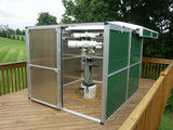 Pier-Tech Tele-Station 2 Roll-Off Roof Observatory - 10' X 10' X 6' I.D.
