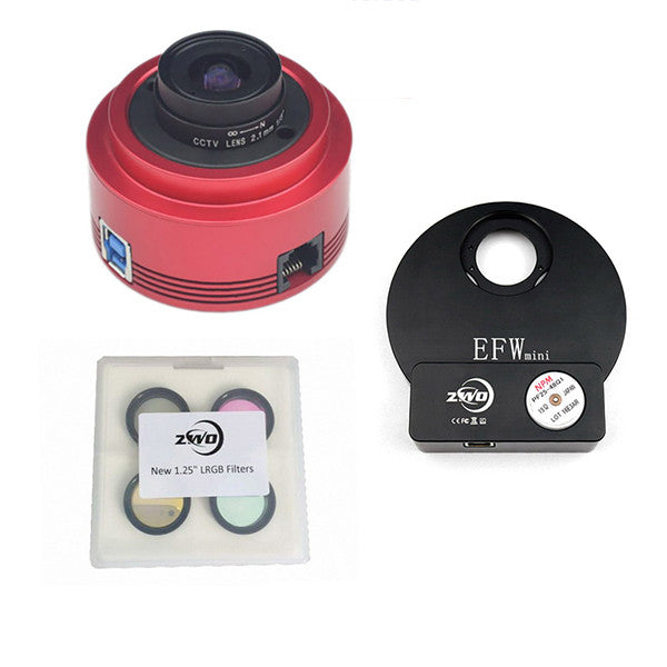 ZWO ASI178MM Monochrome Astronomy Camera Kit Two