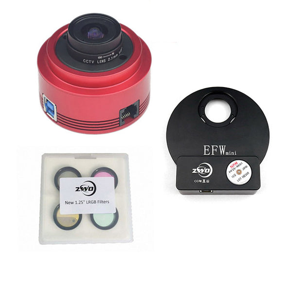 ZWO ASI-290MM Monochrome Astronomy Camera USB 3.0 Kit Two